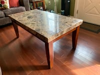 Coffee Table (Brown Marble Top) Alexandria, 22310