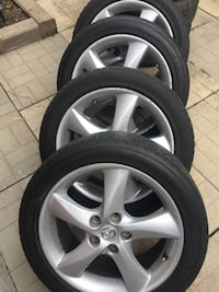 "215/50/R17 set of 4 Michelin summer tires on Mazda17"" Wheels  Richmond Hill, L4C 7A1"