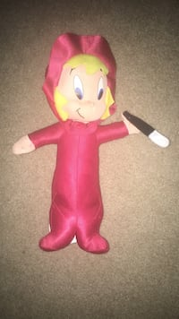 "15 1/2"" plush Harvey Productions Devil Doll Bakersfield, 93308"