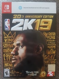 NBA 2K19 Lebron Legend Edition Brand New FOR NINTENDO SWITCH Toronto, M9P