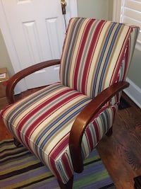 Thomasville fabric arm chair