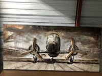Quick Sale: Abstract/Distressed Plane Wall Art  Birmingham, 35209