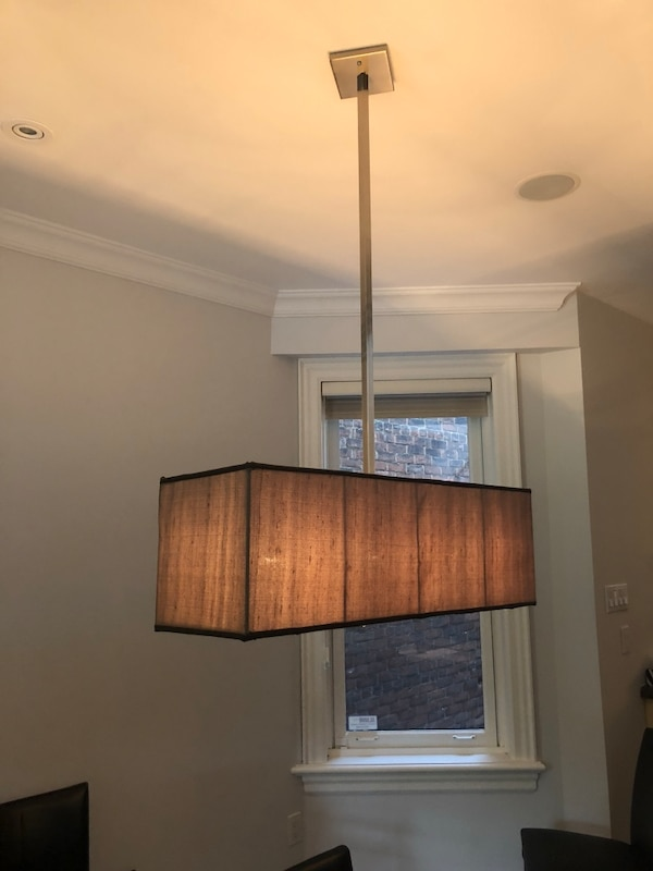 Brown lighting fixture