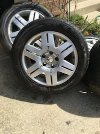 "16"" ALLOY WHEELS WITH 215/55 ZR16 SPORTS TIERS SET OF FOUR Burtonsville, 20866"