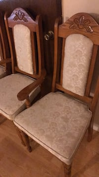 Dining set- hutch, table and chairs for sale! Vancouver, V5W 3H2