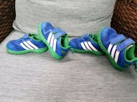 2 pairs great cond adidas nonmark running shoes. Coquitlam, V3B 0E5