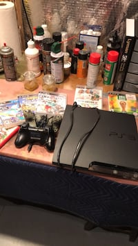 PS3 with five games and controllers Leesburg, 20176