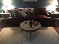 2 marble top end tables & 1 coffee table price is for all 3 Cranberry Township, 16066