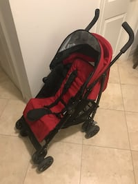 "Safety First ""Lux"" lightweight reclining stroller"