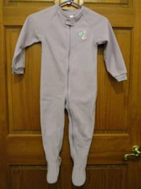 Toddler Sleeper Pajamas Size 4T Aberdeen, 21001