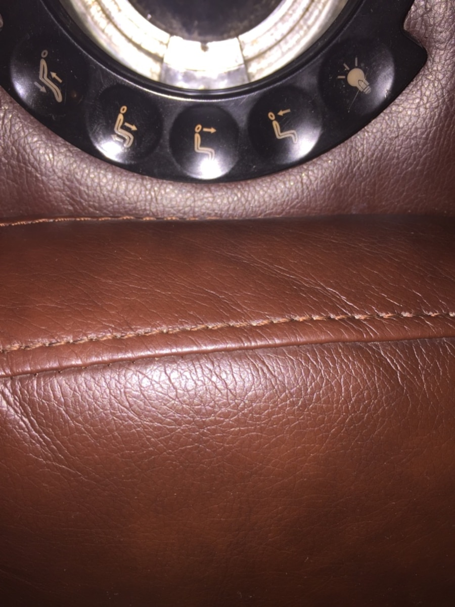 Dark Brown Leather Home Theater Reclining Chair In Pasadena Letgo