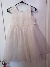 Girls Size 10 White Dress Mississauga, L5J 3S4