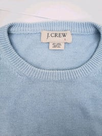 J. Crew Light Blue Sweatshirt Asheville