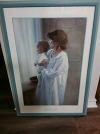 Mother & Son by Robert Duncan (print) - Christmas? Mississauga, L5N 6T9