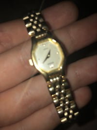 Gold plated pulsar watch London, N5Z