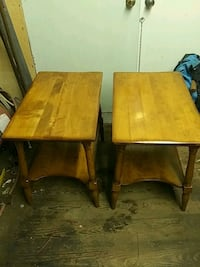 Antique Cushman Colonial maple end tables Fredericksburg, 17026