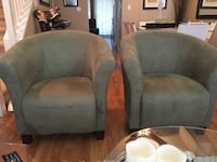 Microsuede accent chairs (new) Surrey, V3S 4P2