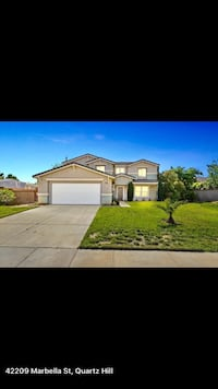 HOUSE For sale 4+BR 3BA Palmdale, 93551