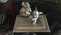 Monopoly gift collection, pewter and gold