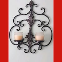 wrought iron ornate wall decor  Whitby, L1N 8X2