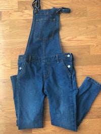 Girls overalls - worn only once!