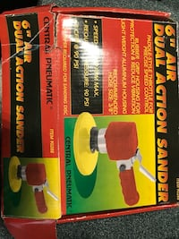 """6"""" Air Dual Action Sander by Central Pneumatic Hayward, 94545"""