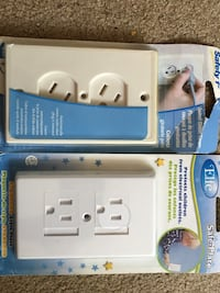 2 new outlet safety covers