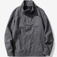 BANDEROCKS VELCRO MAGIS WINDBREAKER JACKET WITH KANGAROO POCKETS
