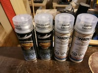 Untouched/Unused Watco and Varathane Lacquers Ajax, L1S