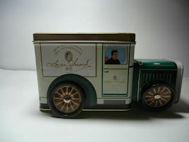 Laura Secord Chocolates Tin Truck Collectible