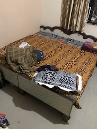 6 by 6 bed frame with matrix  12325 km