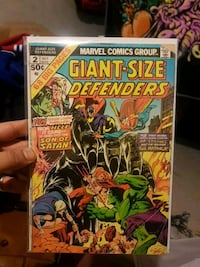Marvel Giant-Size Defenders comic book Richmond Hill, L4S 1A1
