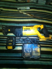 Dewalt sawsal battery and charger