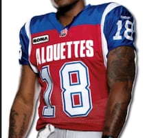 Authentic CFL Jersey