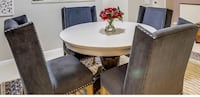 Round Wooden Pedestal Table from Pottery Barn Silver Spring, 20910
