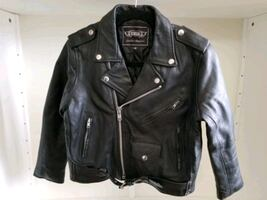 Biker Leather Jacket Kids