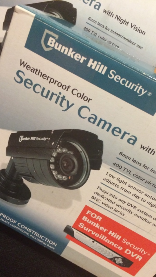 Used Bunker Hill Security Weatherproof Color Security