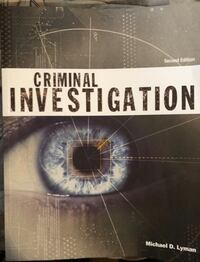 Criminal Investigation Textbook District Heights, 20747