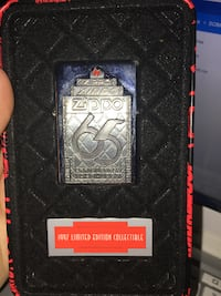 Limited Edition 65th Anniversary 1932-1997 ZIPPO Lighter With Original Tin Coal