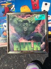 The Incredible Hulk poster with black frame Clinton Township, 48035