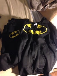 black and yellow Batman zip-up jacket Windsor, N8W