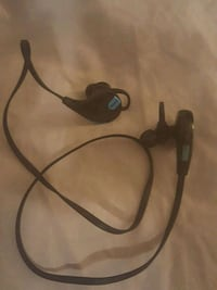 black and gray corded headphones Dallas