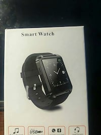 squared black case smart watch with black strap bo Fairfax, 22032