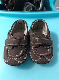 Lot Of baby boy shoes from 0-6 months. Very clean Toronto, M9V 3B9