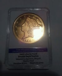 1849 Liberty Head proof Schenectady