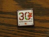 Super Mario 30th Anniversary Button Cohoes, 12047