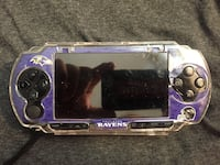 Sony psp with purple ravens case Burtonsville, 20866