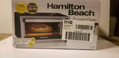 *New* Hamiltion beach toaster oven model # 31142