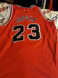 Michael Jordan Red Bulls jersey Woodbine, 21797