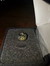 """Sterling silver """"Kaleidoscope"""" Chamilia bead with Swarovski crystals. Middletown, 21769"""